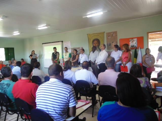 foto de uma reunião