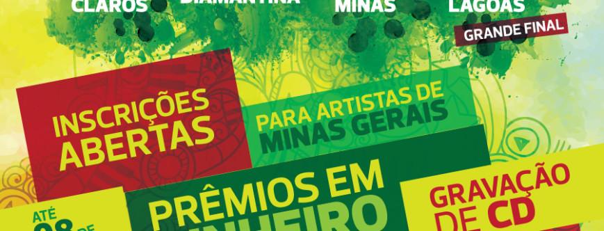 """Ilustração da notícia: Diamantina sediará etapa do """"Prêmio de Música das Minas Gerais"""""""