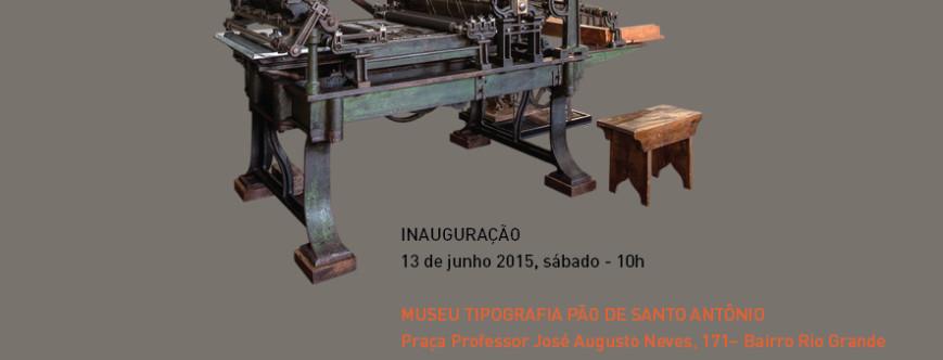 Ilustração da notícia: Inauguração do Museu de Tipografia Pão de Santo Antônio
