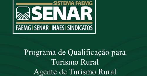 Ilustração da notícia: SENAR Ofertará Curso de Formação de Agentes de Turismo Rural