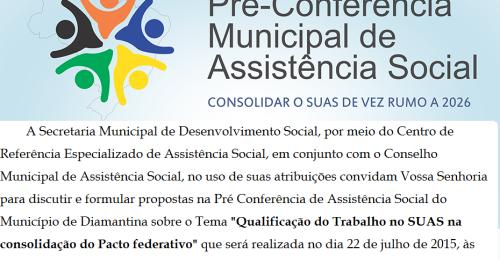 Ilustração da notícia: Pré-conferência debate Política de Assistência Social no município
