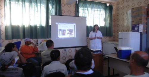 Ilustração da notícia: Secretaria de Saúde capacita agentes para campanha de vacinação antirrábica