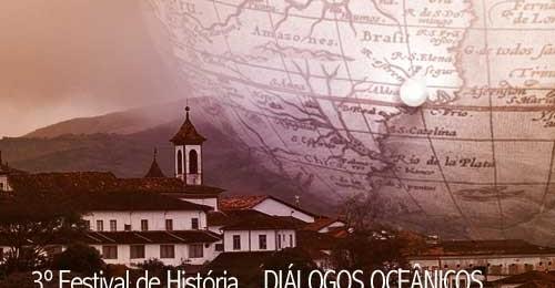 Ilustração da notícia: Inscrições abertas para o 3º Festival de História em Diamantina