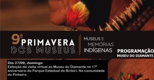 Ilustração da notícia: Confira a programação de Museu do Diamante na 9ª Primavera dos Museus