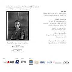 Ilustração da notícia: Diamantina recebe exposição: Assis Horta: A Democratização do Retrato Fotográfico