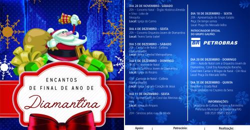 Ilustração da notícia: Prefeitura de Diamantina divulga a programação EnCantos de Final de Ano