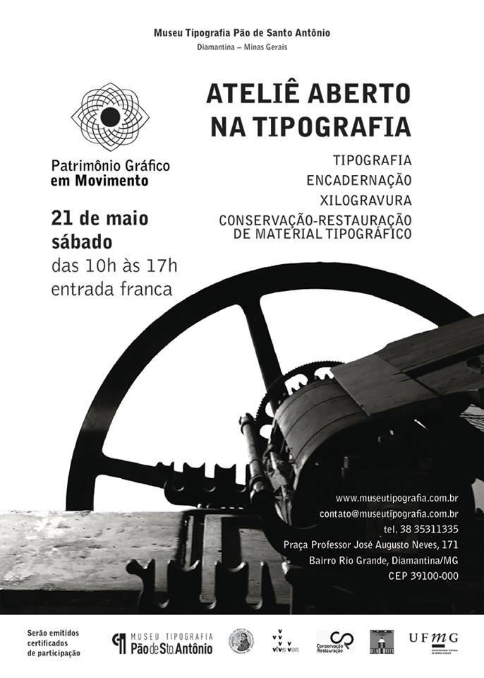 foto de Patrimônio Gráfico em movimento: ateliê aberto na tipografia