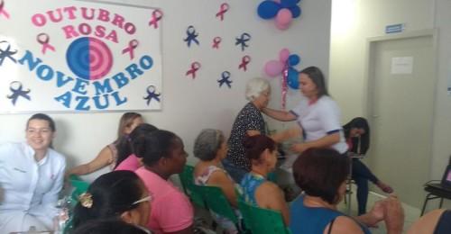 Ilustração da notícia: ESF Vila Operária realiza ação de prevenção ao câncer de mama