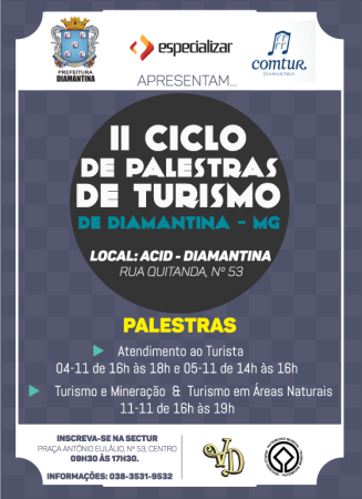 Ciclo de Palestras de Turismo