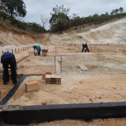 Construção do CMEI Palha