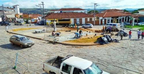 Ilustração da notícia: Obras para melhoria do trânsito no Largo Dom João avançam