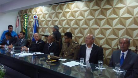 Cerimônia de posse do prefeito, vice-prefeito e vereadores eleitos de Diamantina.
