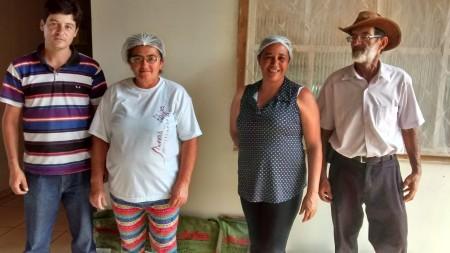 Ass dos agricul. Familiares de Planalto Pres. Eliana Silva Ribeiro de Carvalho.
