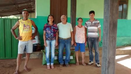 Ass. Pro Des. Comun. Corrego Fundo. Pres. Maria Conceição Pinheiro Souza..