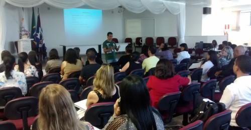 Ilustração da notícia: Encontro de Fortalecimento do Programa Nacional de Alimentação Escolar-PNAE no município de Diamantina.