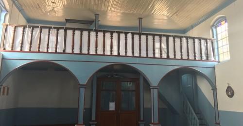 Ilustração da notícia: Concluída a restauração da Capela de Santa Rita de Cássia, no distrito de Sopa.