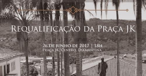 Ilustração da notícia: Diamantinenses recebem Praça JK após obra de requalificação