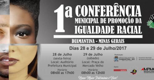 Ilustração da notícia: 1ª Conferência Municipal de Promoção da Igualdade Racial
