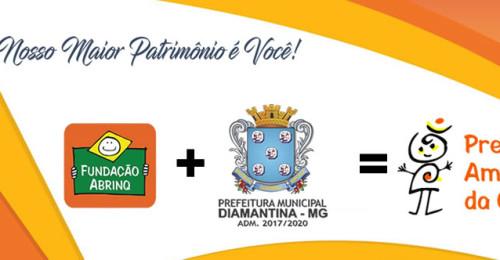 Ilustração da notícia: Prefeitura Municipal de Diamantina assina termo de adesão ao Programa Prefeito Amigo da Criança (PPAC)