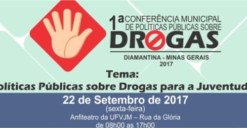 Ilustração da notícia: 1ª Conferência Municipal de Políticas Públicas sobre Drogas