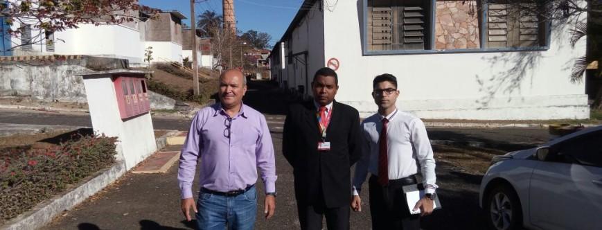 Ilustração da notícia: Administração Municipal e Banco Bradesco se reunem