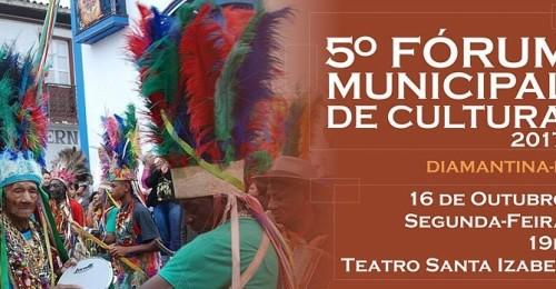 Ilustração da notícia: Secretaria de Cultura, Turismo e Patrimônio de Diamantina realiza o 5º Fórum Municipal de Cultura