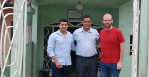 Ilustração da notícia: Secretário Municipal de Saúde apresenta médicos para composição da ESF