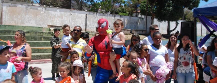 Ilustração da notícia: A Prefeitura Municipal de Diamantina comemora o Dia das Crianças.