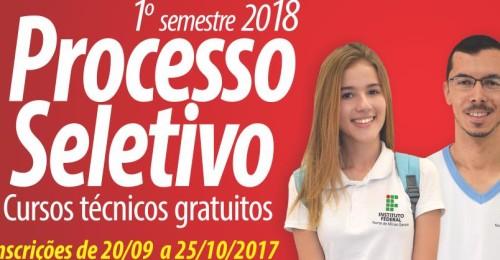 Ilustração da notícia: Instituto Federal do Norte de Minas Gerais (IFNMG) divulga o edital do processo seletivo para seus cursos técnicos integrados ao Ensino Médio