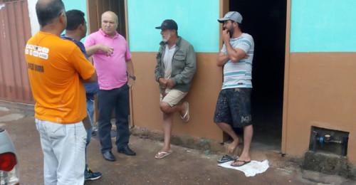 Ilustração da notícia: JUSCELINO E VEREADOR TONINHO DO GUINDA VISITAM  AS COMUNIDADES DO GUINDA E SÃO JOÃO DA CHAPADA