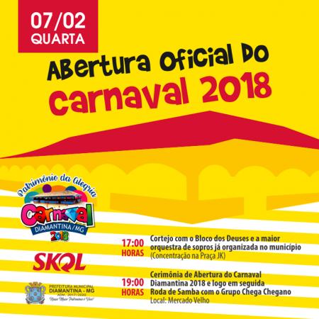 Abertura Carnaval