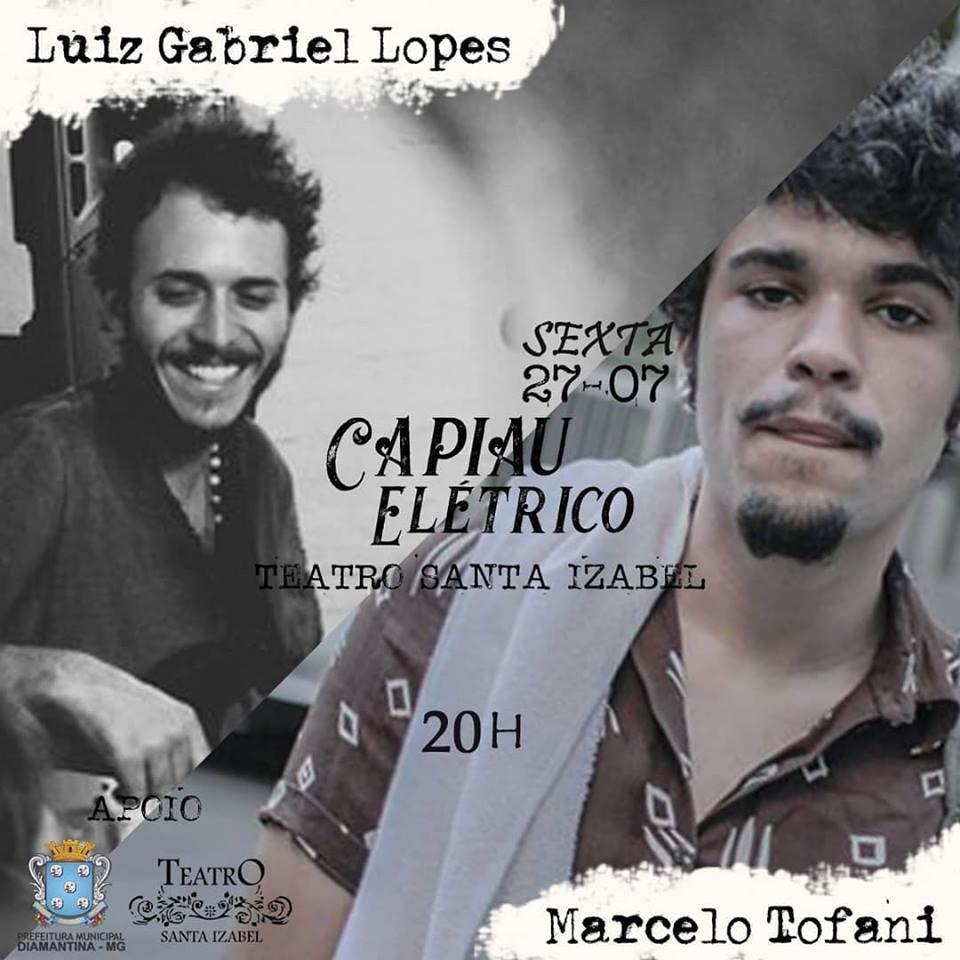 """foto de ESPETÁCULO MUSICAL """"CAPIAU ELÉTRICO"""""""