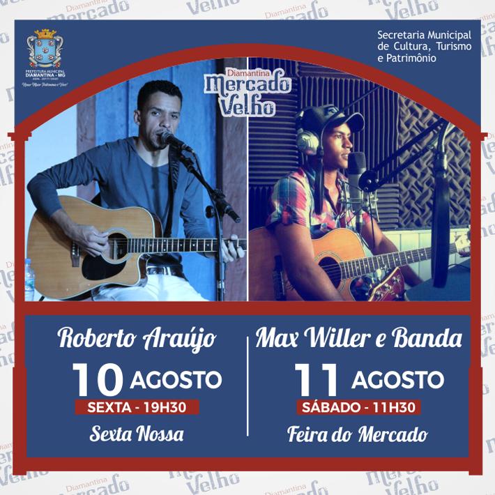 foto de PROGRAMAÇÃO MUSICAL DO MERCADO VELHO 10 E 11 DE AGOSTO DE 2018