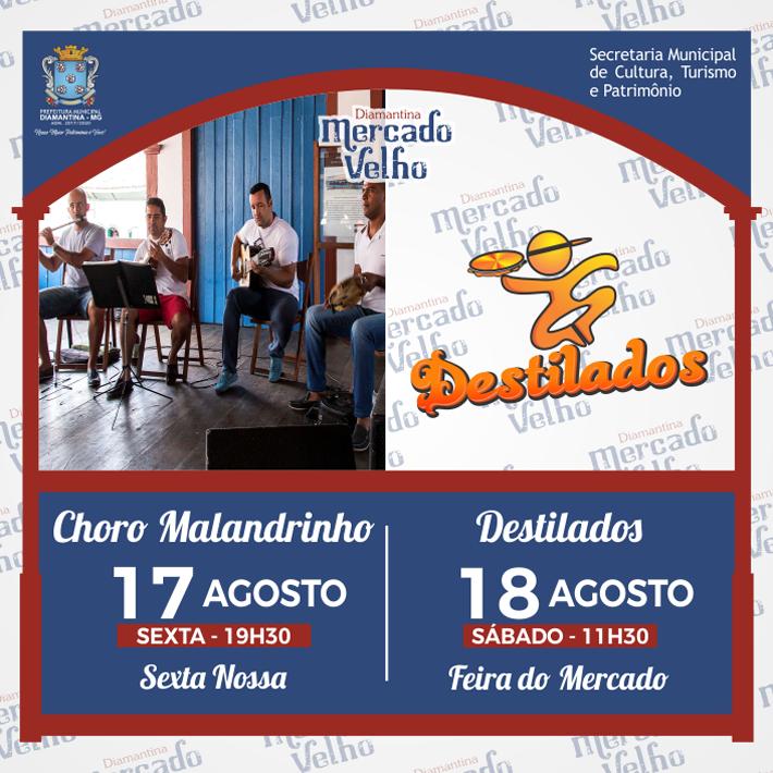 foto de PROGRAMAÇÃO MUSICAL DO MERCADO VELHO 17 E 18 DE AGOSTO DE 2018