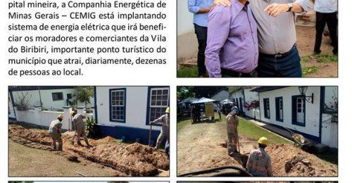 Ilustração da notícia: CEMIG ATENDE SOLICITAÇÃO DO PREFEITO DE DIAMANTINA E IMPLANTA SISTEMA DE ENERGIA ELÉTRICA NA VILA DO BIRIBIRI