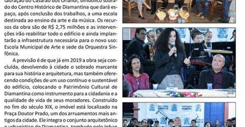 Ilustração da notícia: ASSINADA ORDEM DE SERVIÇO PARA RESTAURAÇÃO DO CASARÃO DOS ORLANDI