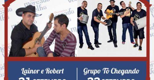 Ilustração da notícia: PROGRAMAÇÃO MUSICAL DO MERCADO VELHO 21 E 22 DE SETEMBRO DE 2018