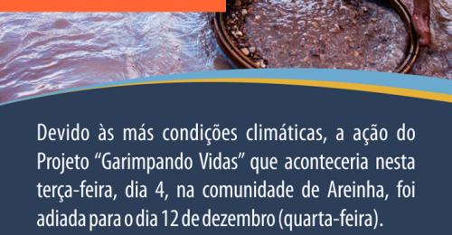 Ilustração da notícia: PREFEITURA DE DIAMANTINA E COOPERGADI OFERECERÃO SAÚDE E ASSISTÊNCIA SOCIAL AOS GARIMPEIROS DE AREINHA