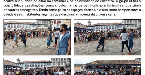 Ilustração da notícia: PRAÇA PÚBLICA DE DIAMANTINA SE TRANSFORMA EM PALCO PARA APRESENTAÇÃO DO GRUPO PRIMEIRO ATO