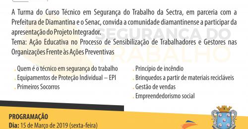 Ilustração da notícia: CONVITE – PARCERIA SENAC E PREFEITURA DE DIAMANTINA