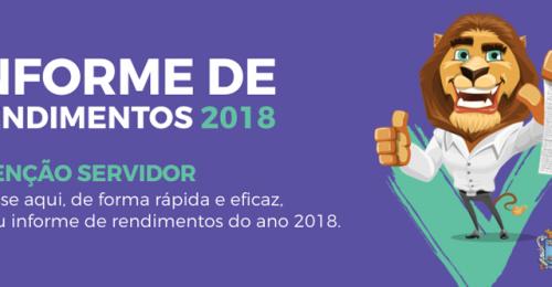 Ilustração da notícia: INFORME DE RENDIMENTOS 2018