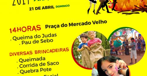 Ilustração da notícia: QUEIMA DO JUDAS 2019 – DIAMANTINA/MG