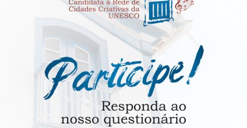 Ilustração da notícia: Pesquisa de opinião para a candidatura de Diamantina à Rede de Cidades Criativas da UNESCO