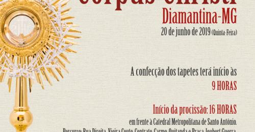 Ilustração da notícia: CORPUS CHRISTI 2019