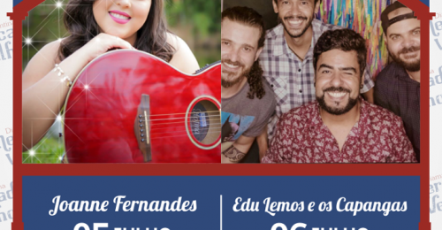 Ilustração da notícia: PROGRAMAÇÃO MUSICAL DO MERCADO VELHO 05 E 06 DE JULHO DE 2019
