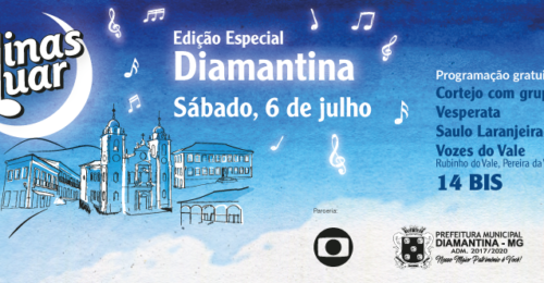 """Ilustração da notícia: De volta à cidade de origem, """"Minas ao Luar"""" tem edição especial em Diamantina"""