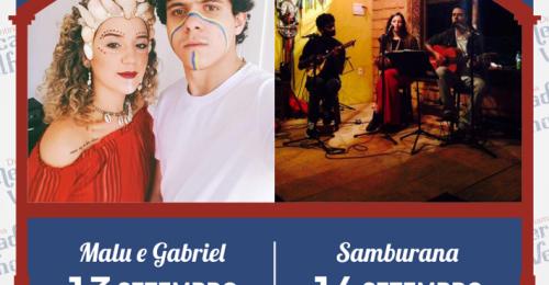Ilustração da notícia: PROGRAMAÇÃO MUSICAL DO MERCADO VELHO 13 E 14 DE SETEMBRO DE 2019