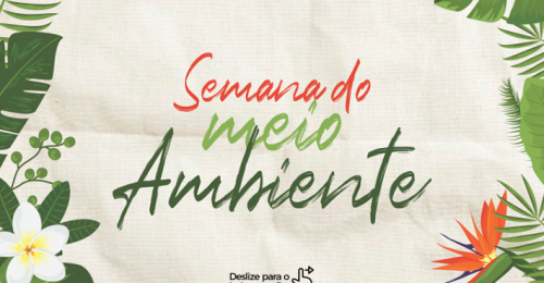 Ilustração da notícia: SEMANA MUNDIAL DO MEIO AMBIENTE 2020