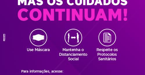 Ilustração da notícia: A ONDA ROXA ACABOU, MAS OS CUIDADOS CONTINUAM!