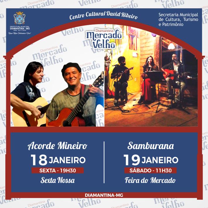 foto de PROGRAMAÇÃO MUSICAL DO MERCADO VELHO 18 E 19 DE JANEIRO DE 2019